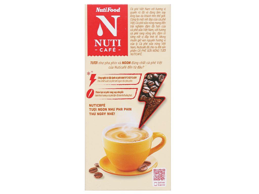 Cà phê sữa nóng tươi NUTICAFÉ 255g 3