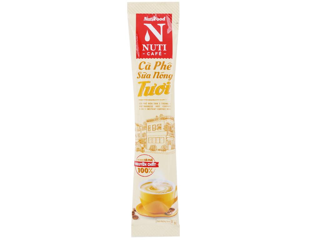 Cà phê sữa nóng tươi NUTICAFÉ 255g 5