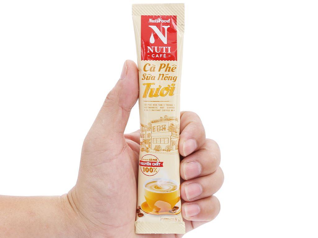 Cà phê sữa nóng tươi NUTICAFÉ 255g 8
