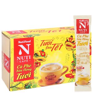 Cà phê sữa nóng tươi NUTICAFÉ 255g