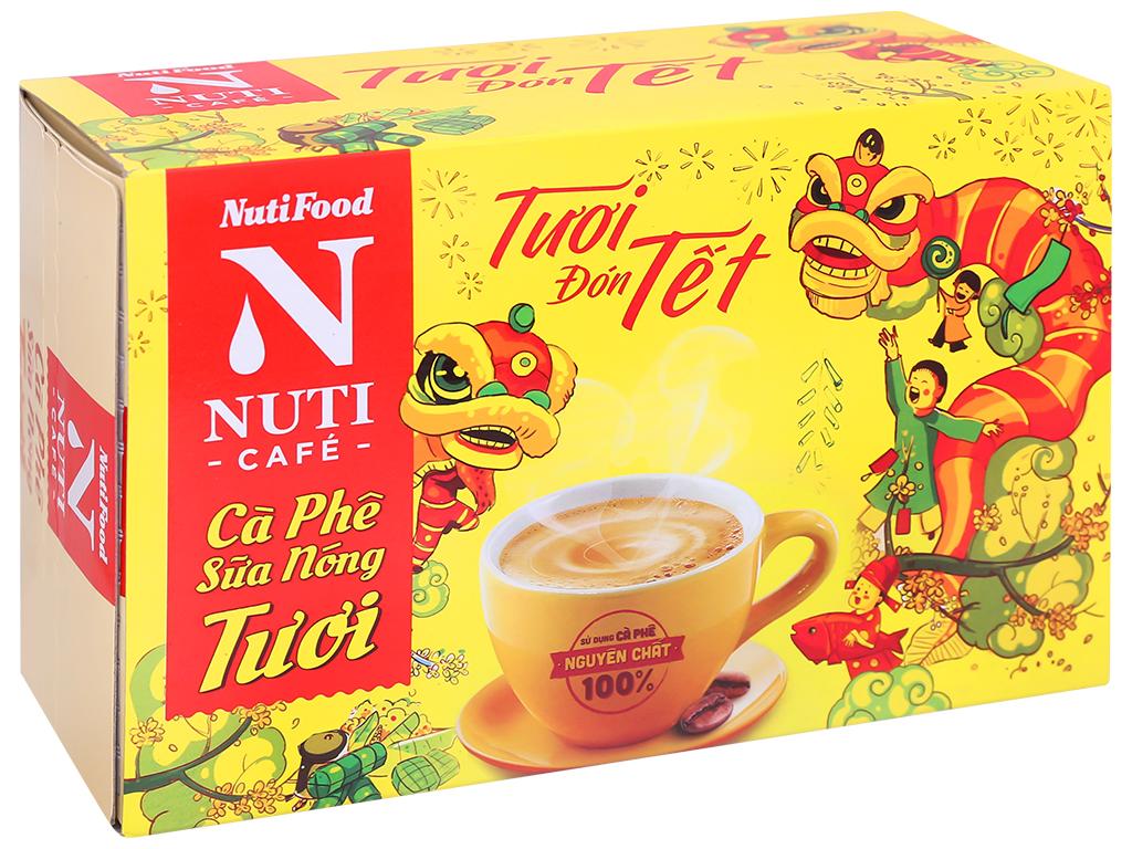 Cà phê sữa nóng tươi NUTICAFÉ 255g 1