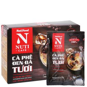 Cà phê đen đá tươi NUTICAFÉ 140g