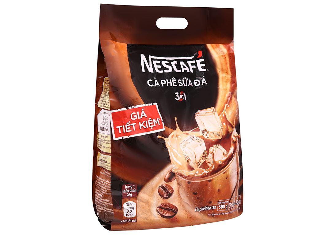 Cà phê sữa đá NesCafé 3 in 1 500g 1
