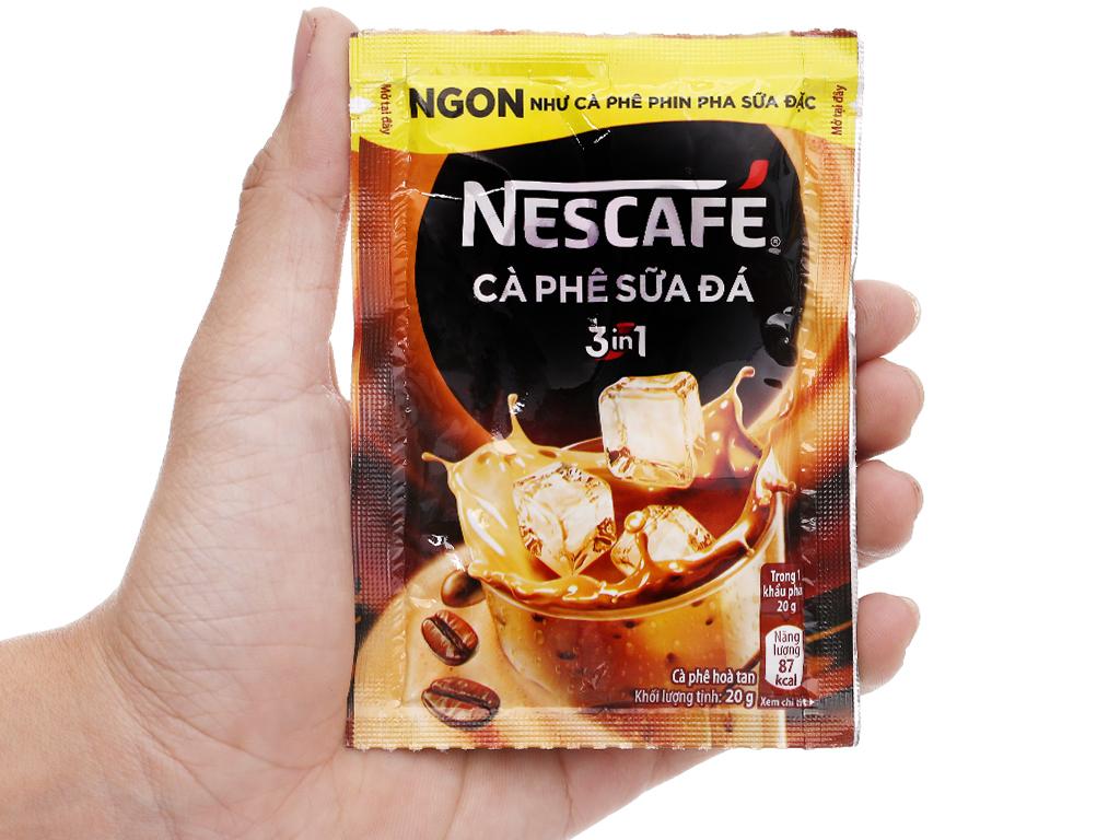 Cà phê sữa đá NesCafé 3 in 1 500g 6