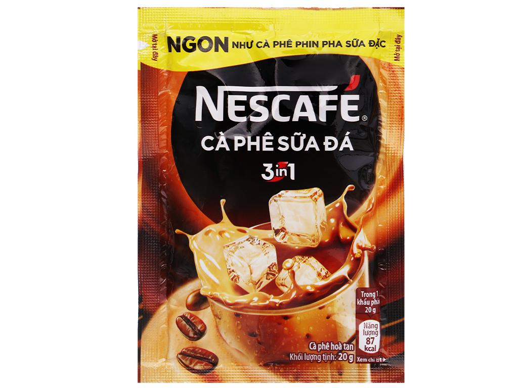 Cà phê sữa đá NesCafé 3 in 1 500g 9