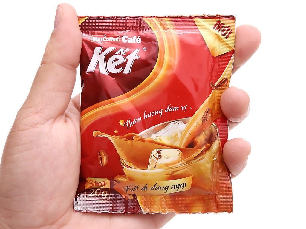 Cà phê sữa MacCoffee Cafe Kết 300g ( 15 gói x 20g ) 6