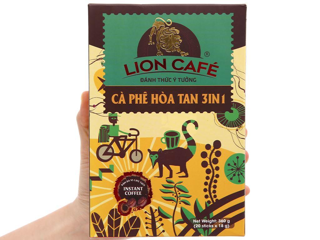 Cà phê hòa tan Lion 3 in 1 360g 2