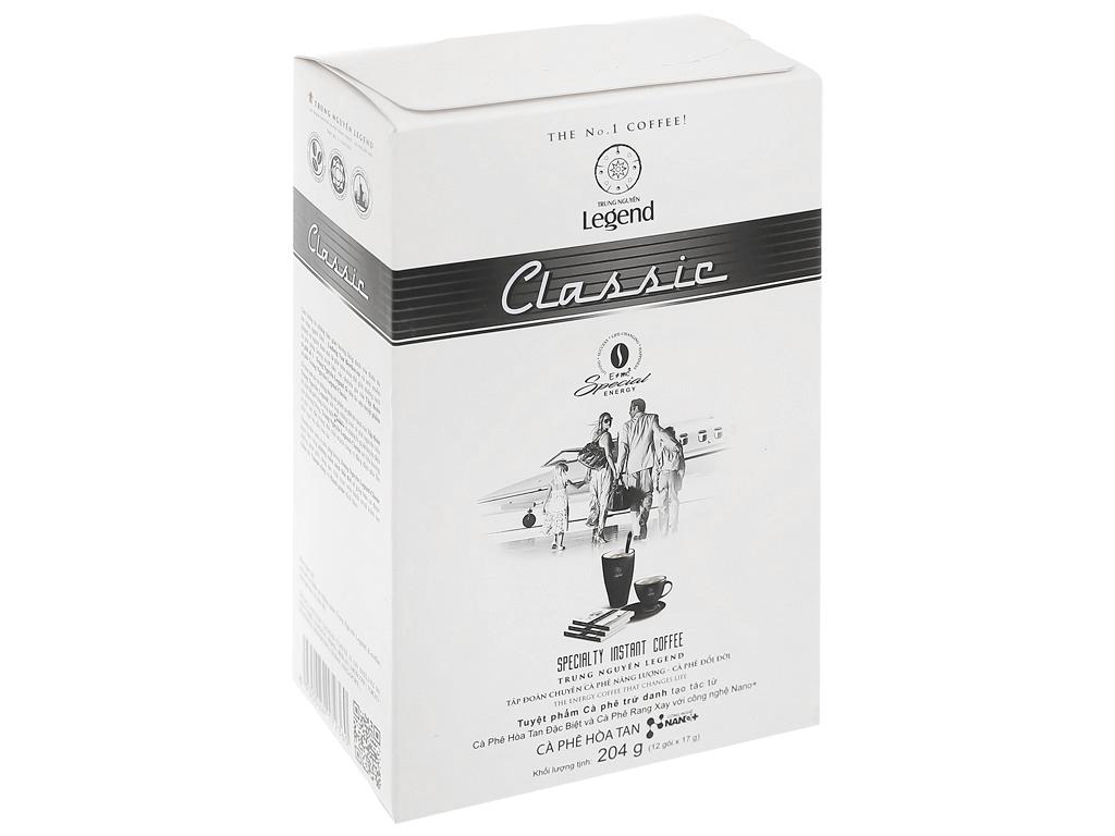 Cà phê hòa tan Trung Nguyên Legend Classic 204g ( 12 gói x 17g ) 1