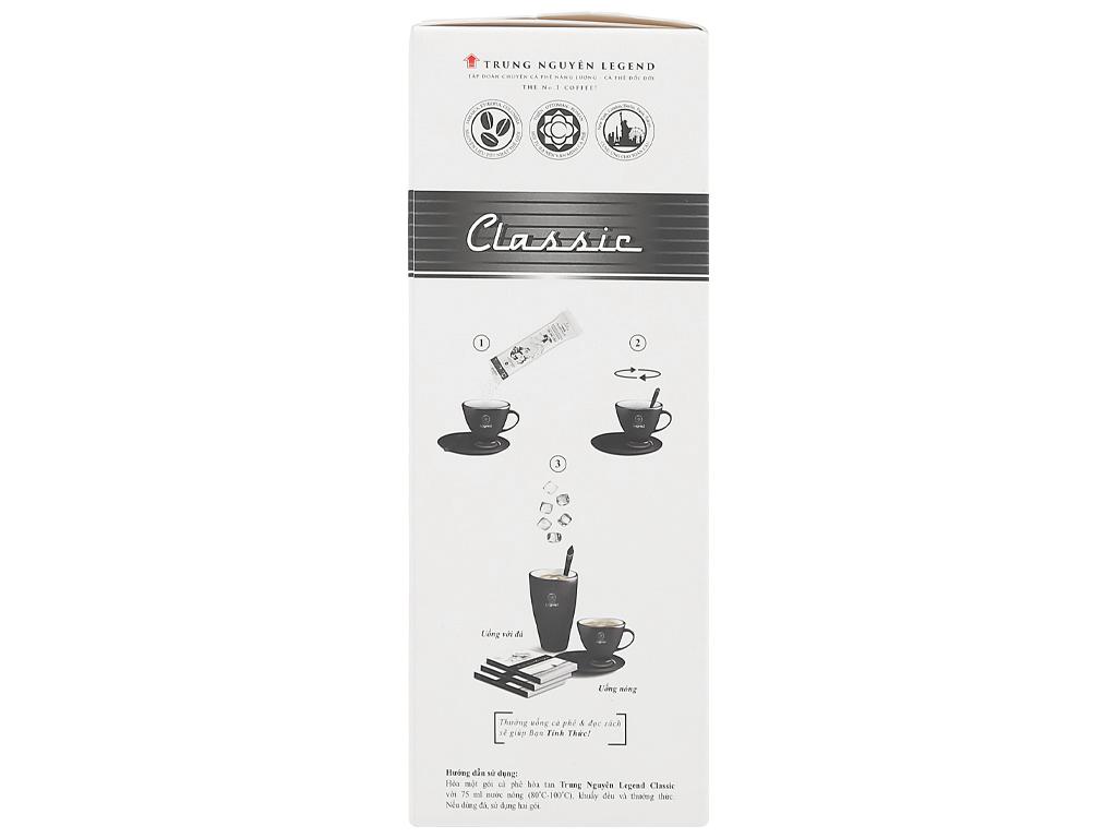 Cà phê hòa tan Trung Nguyên Legend Classic 204g ( 12 gói x 17g ) 4