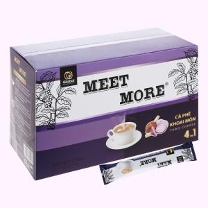 Cà phê hòa tan Meet more 4 in 1 hương khoai môn 270g