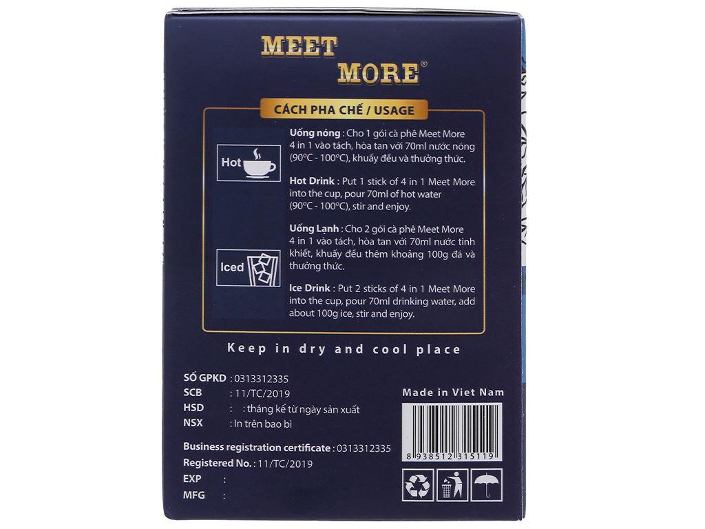 Cà phê hòa tan Meet more 4 in 1 hương bạc hà 270g 4