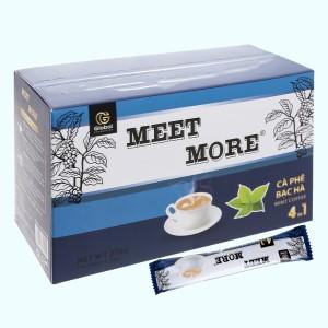 Cà phê hòa tan Meet more 4 in 1 hương bạc hà 270g