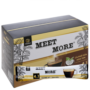Cà phê hòa tan Meet more 4 in 1 hương dừa 270g