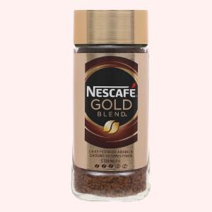 Cà phê đen NesCafé Gold Blend UK 100g