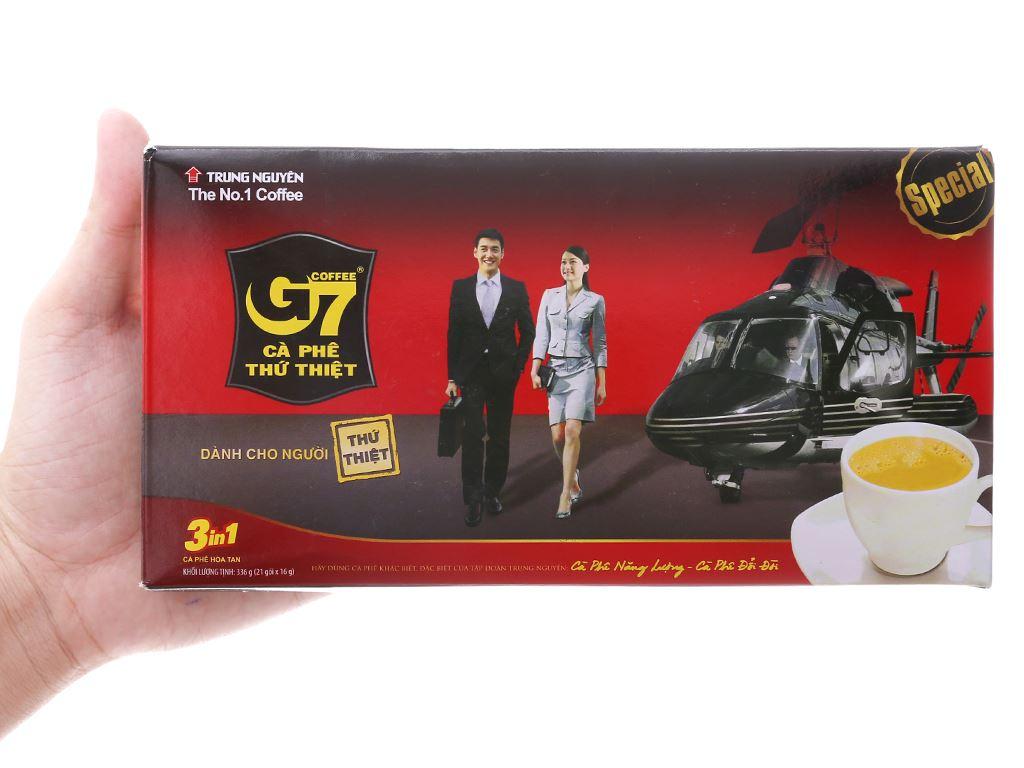 Cà phê sữa G7 3 in 1 336g 4