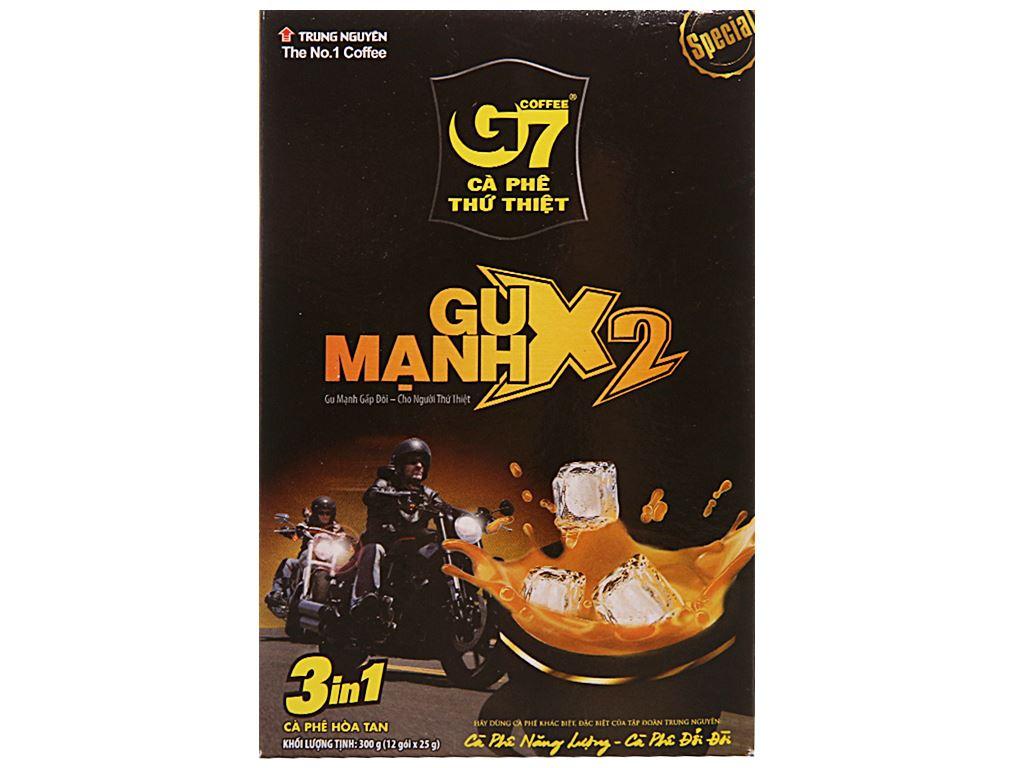 Cà phê sữa G7 gu mạnh X2 300g 1