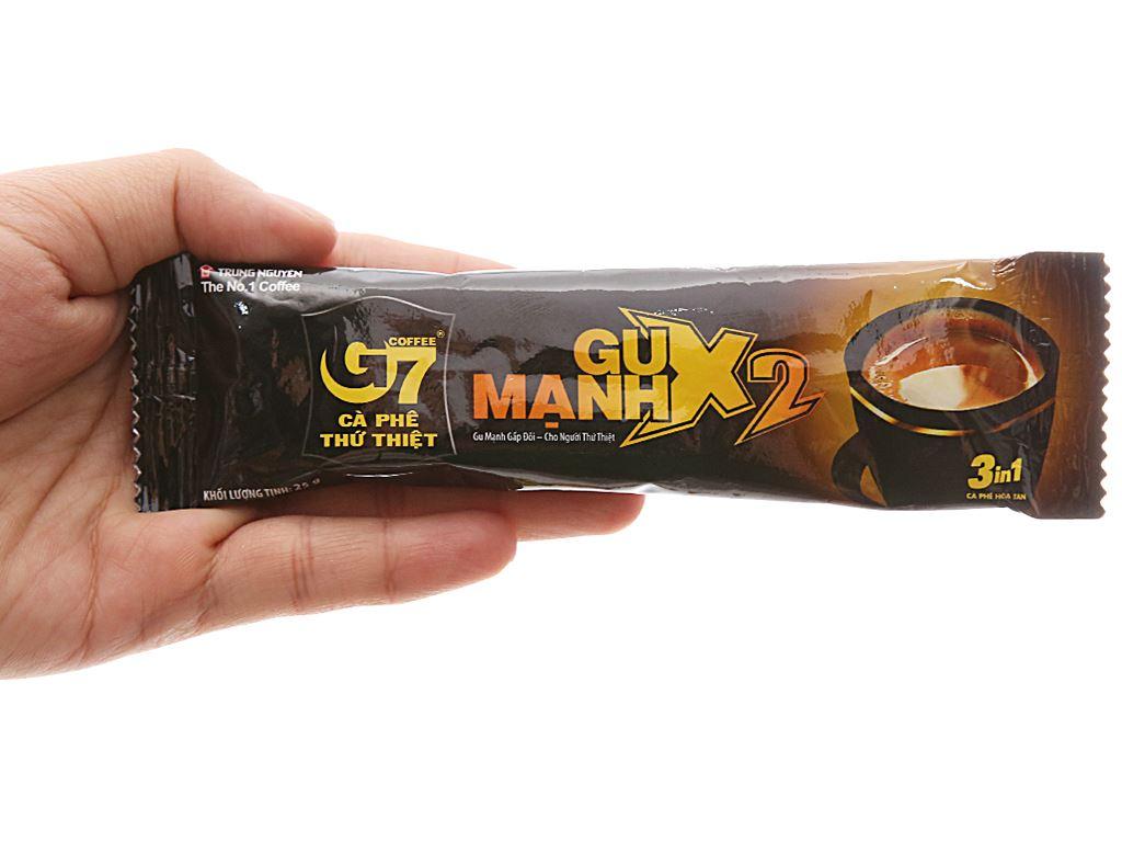 Cà phê sữa G7 gu mạnh X2 300g 7