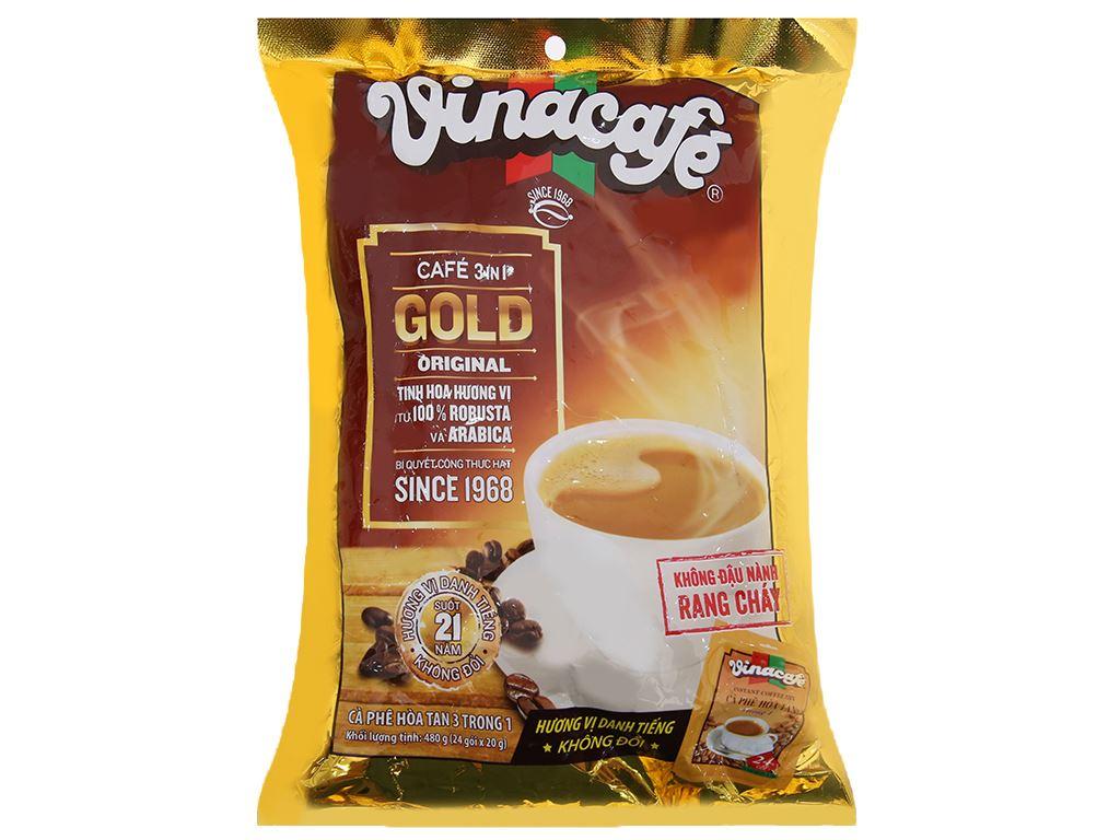 Cà phê sữa VinaCafé Gold Original 480g 1