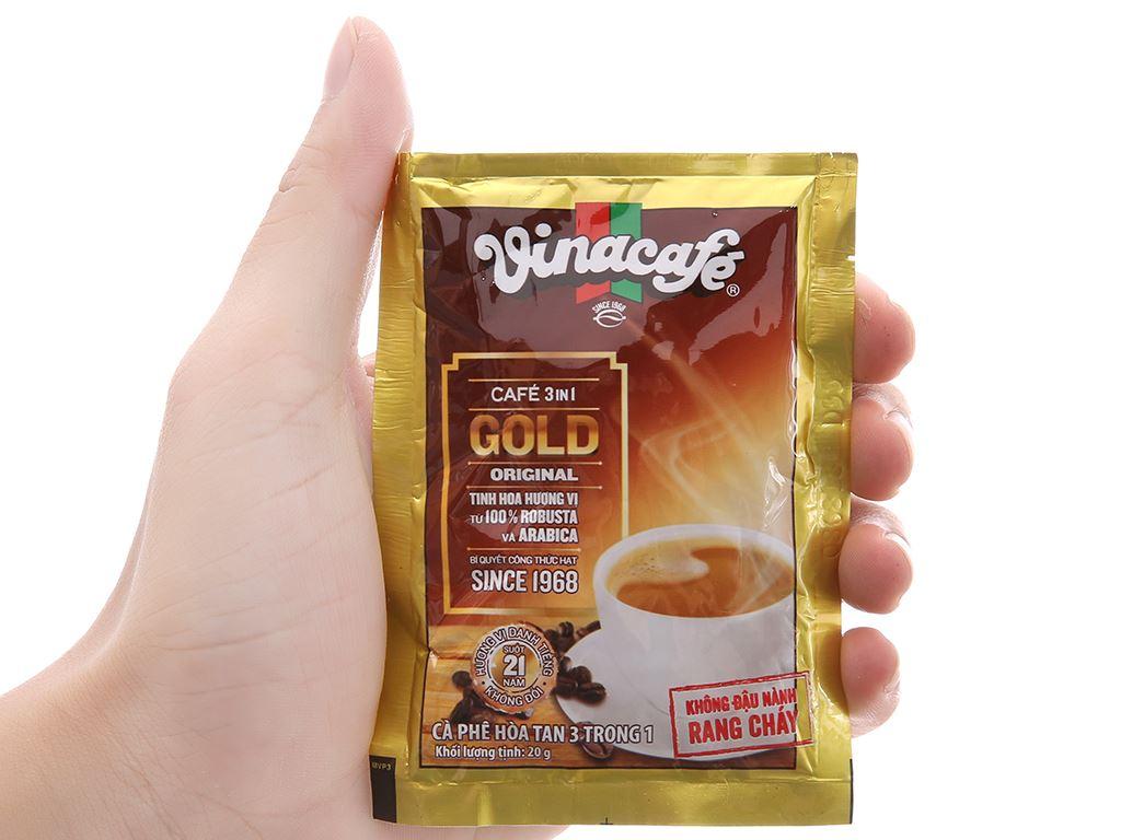 Cà phê sữa VinaCafé Gold Original 480g 5