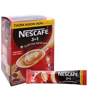 Cà phê hòa tan NesCafé 3 trong 1 đậm đà hài hòa 340g (17g x 20 gói)