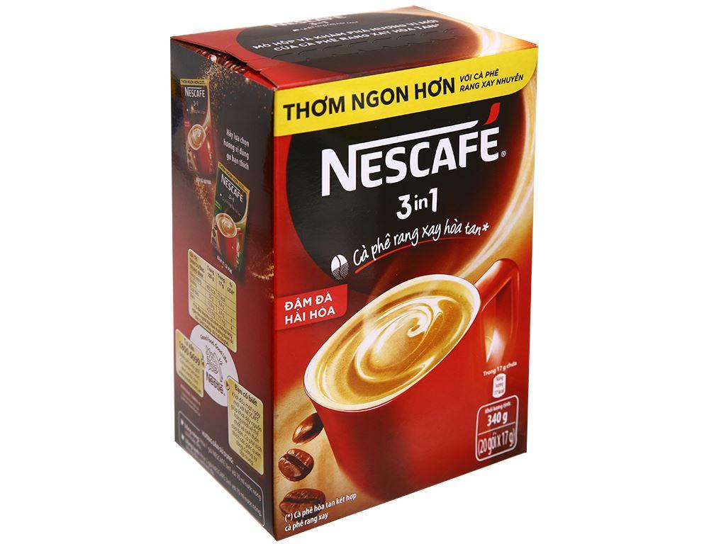 Cà phê sữa NesCafé 3 in 1 đậm đà hài hòa 340g 3