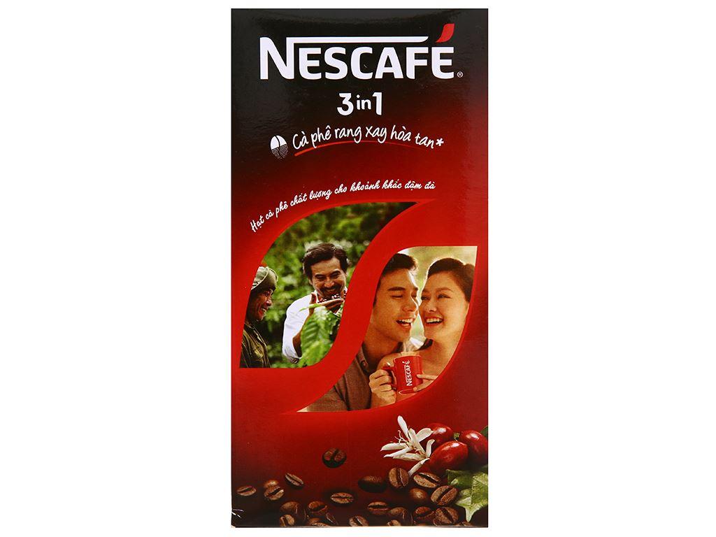 Cà phê sữa NesCafé 3 in 1 đậm đà hài hòa 340g 6