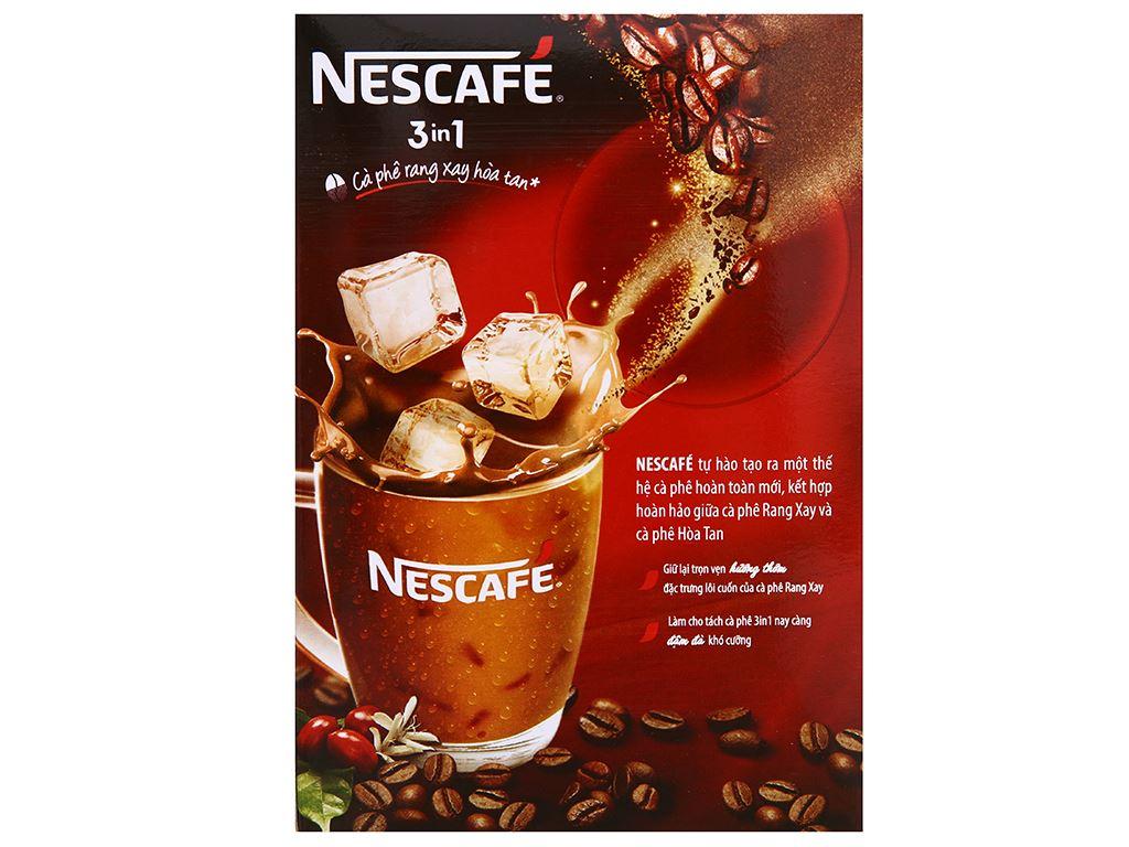 Cà phê sữa NesCafé 3 in 1 đậm đà hài hòa 340g 7