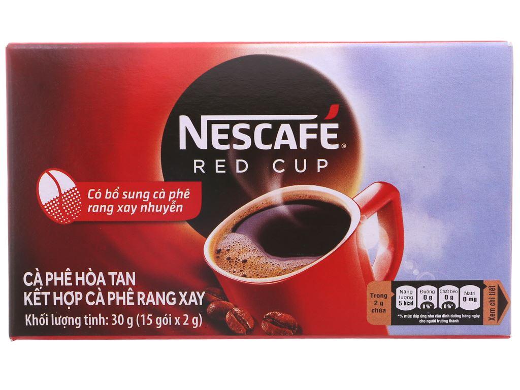 Cà phê đen NesCafé Red Cup 30g 2