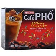 Cà phê sữa Phố gói 24g (hộp 10 gói)