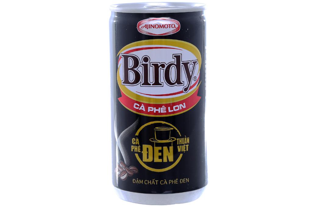 Cà phê đen Birdy lon 170ml