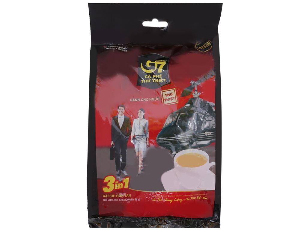 Cà phê sữa hòa tan G7 3 trong 1 320g (16g x 20 gói) 1