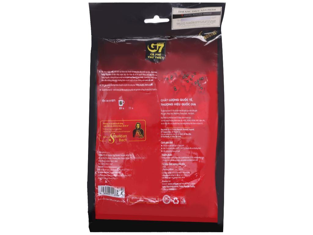 Cà phê sữa hòa tan G7 3 trong 1 320g (16g x 20 gói) 2