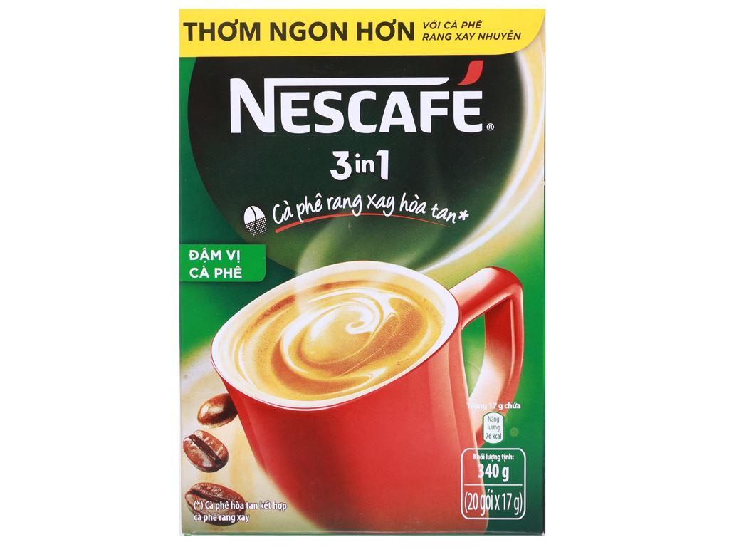 Cà phê sữa NesCafé 3 in 1 đậm vị cà phê 340g 1