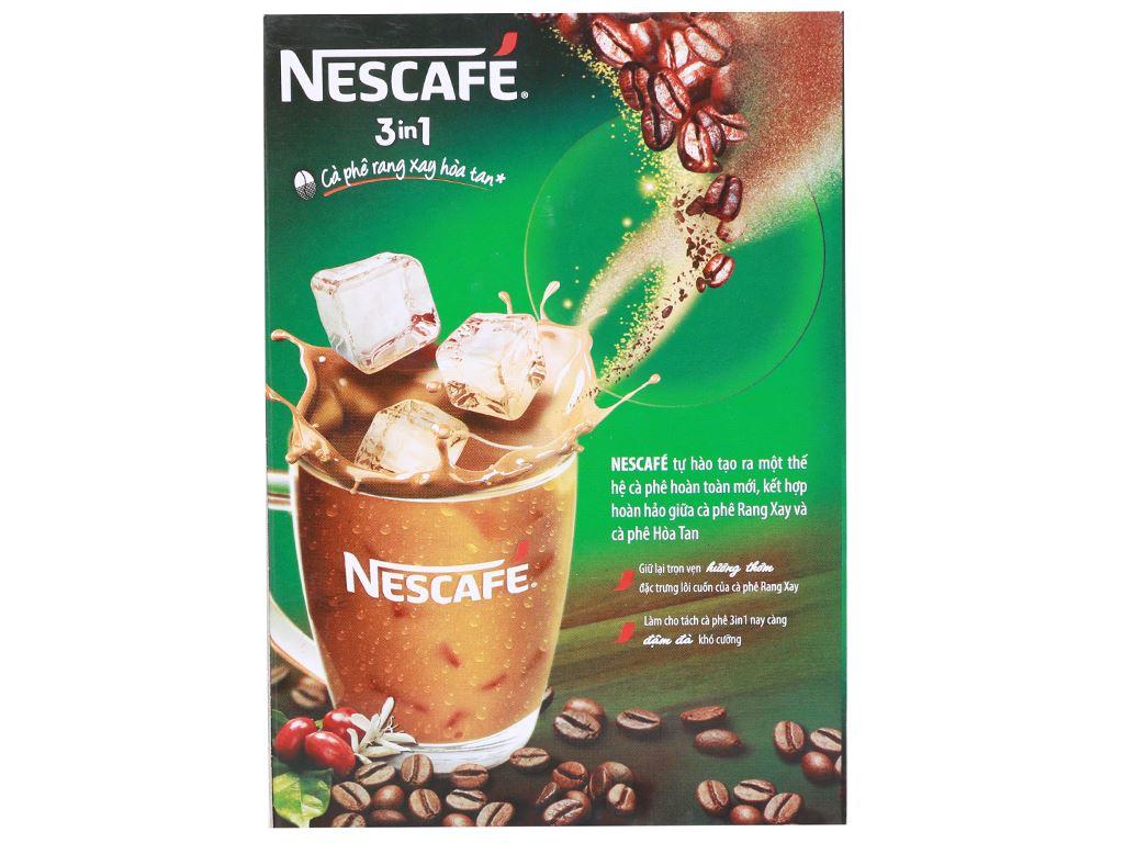 Cà phê sữa NesCafé 3 in 1 đậm vị cà phê 340g 2
