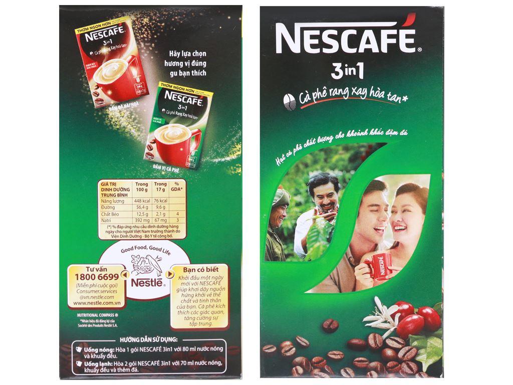 Cà phê sữa NesCafé 3 in 1 đậm vị cà phê 340g 3