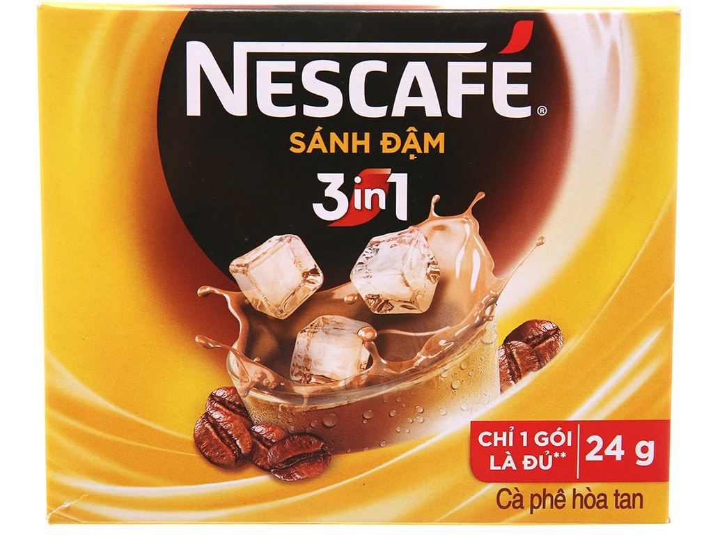 Cà phê sữa NesCafé sánh đậm 240g 1