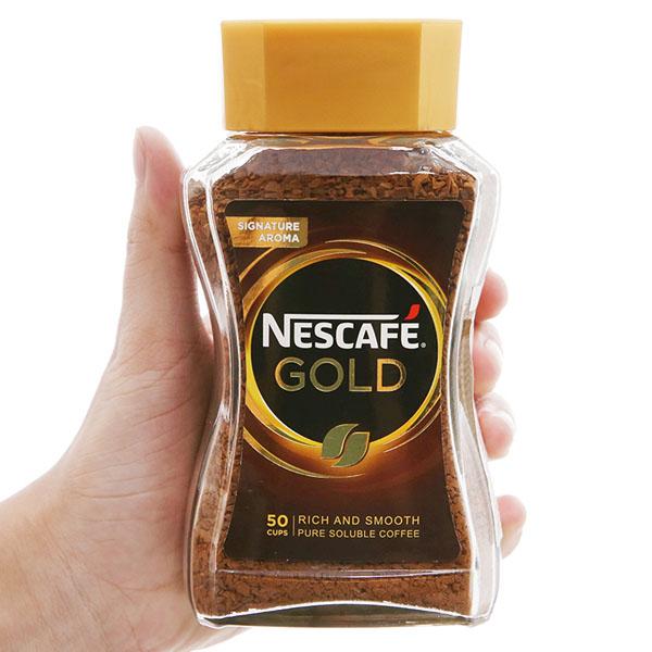 Cà phê đen hòa tan NesCafé Gold 100g