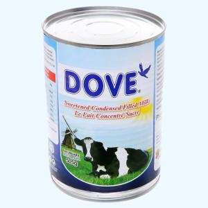 Kem đặc có đường Dove lon 505g