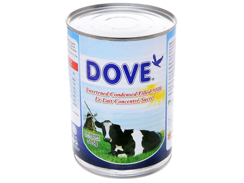 Sữa đặc có đường Dove lon 505g 2