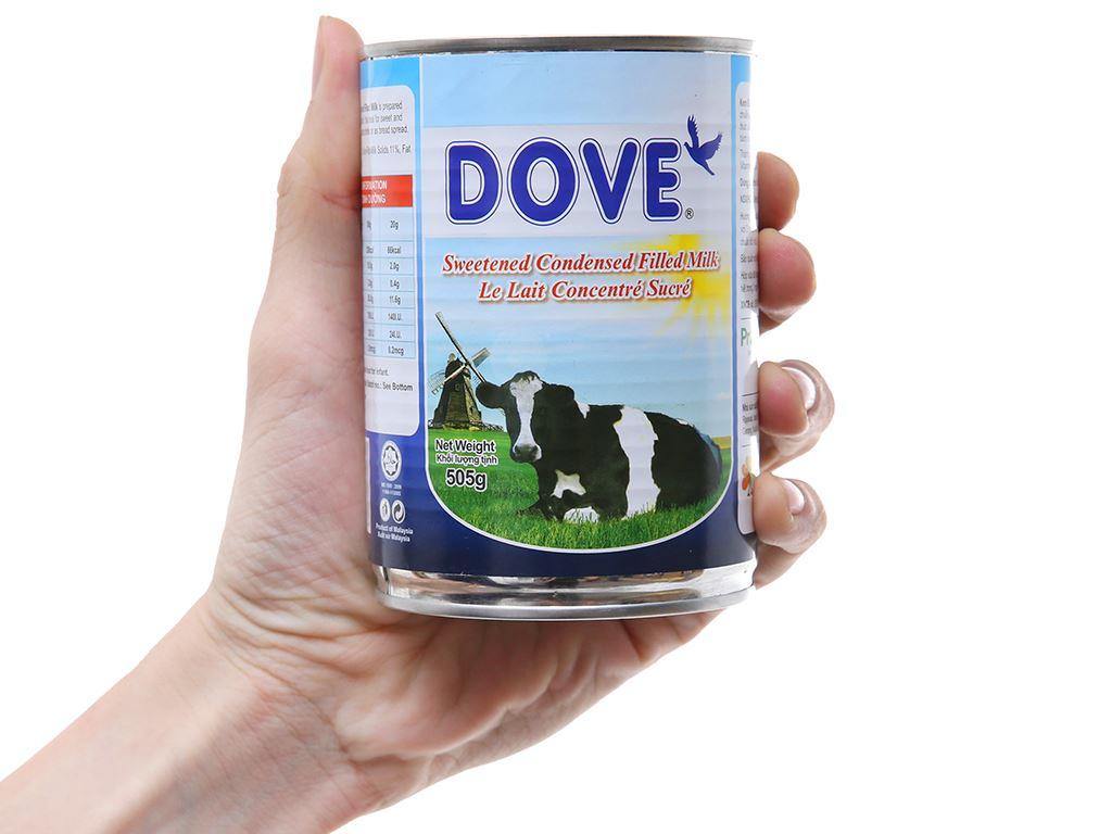 Sữa đặc có đường Dove lon 505g 5