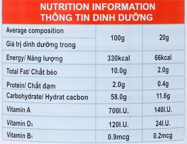 Sữa đặc có đường Dove lon 505g 6