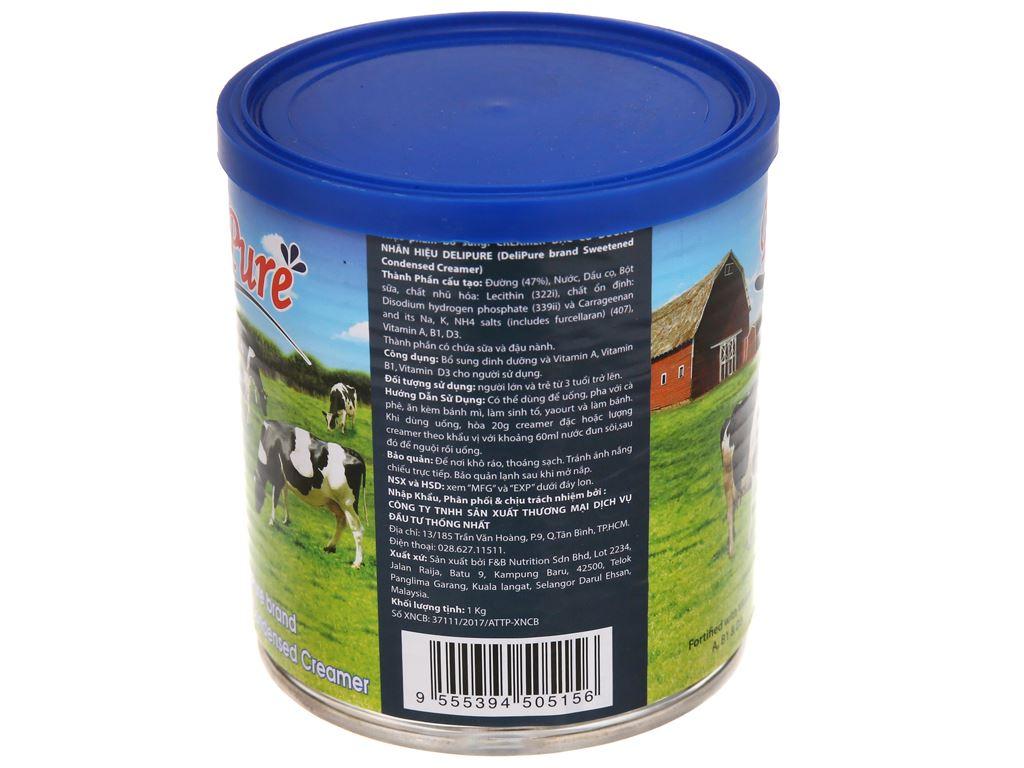Kem đặc có đường DeliPure lon 1kg 3