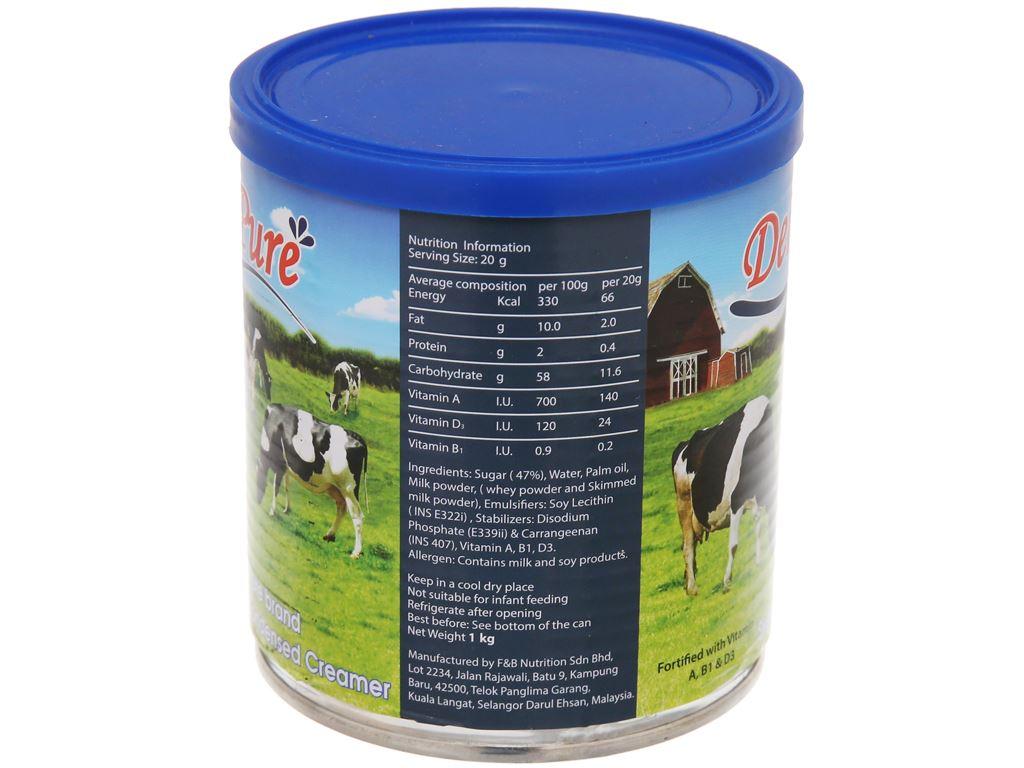 Kem đặc có đường DeliPure lon 1kg 4