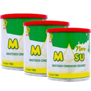 Combo 3 lon sữa đặc Mosu 1kg