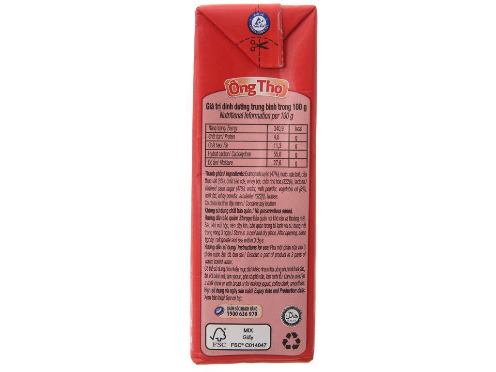 Sữa đặc có đường Ông Thọ đỏ hộp 380g 4