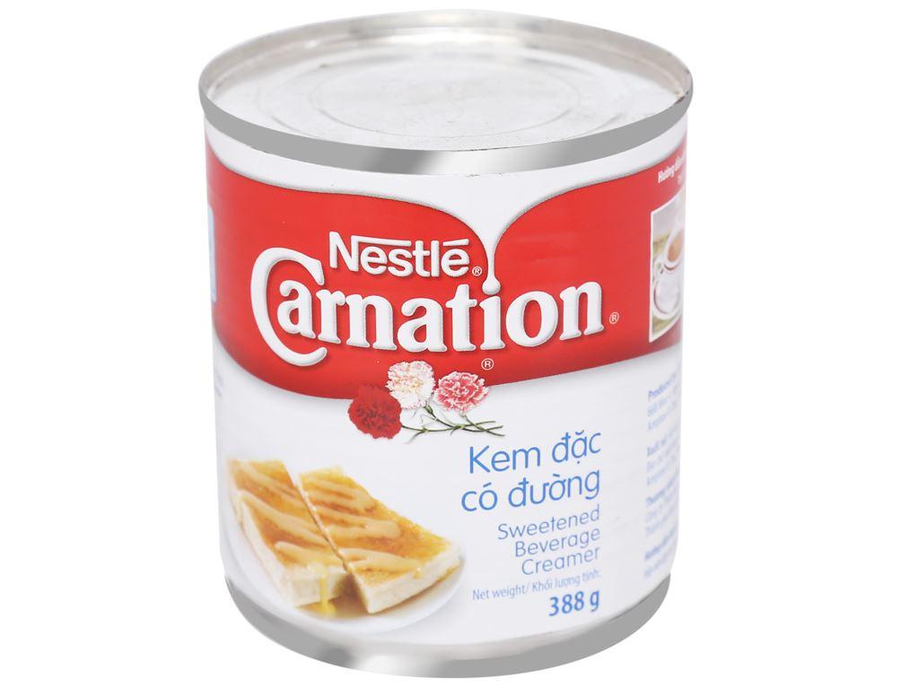 Kem đặc có đường Carnation lon 388g 2