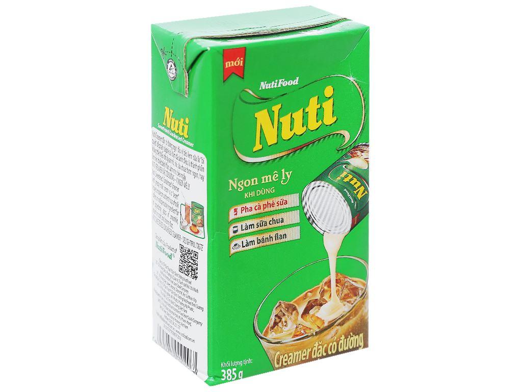 Kem đặc có đường Nuti xanh lá hộp 385g 1