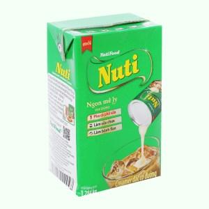 Kem đặc có đường Nuti xanh lá hộp 1,284kg