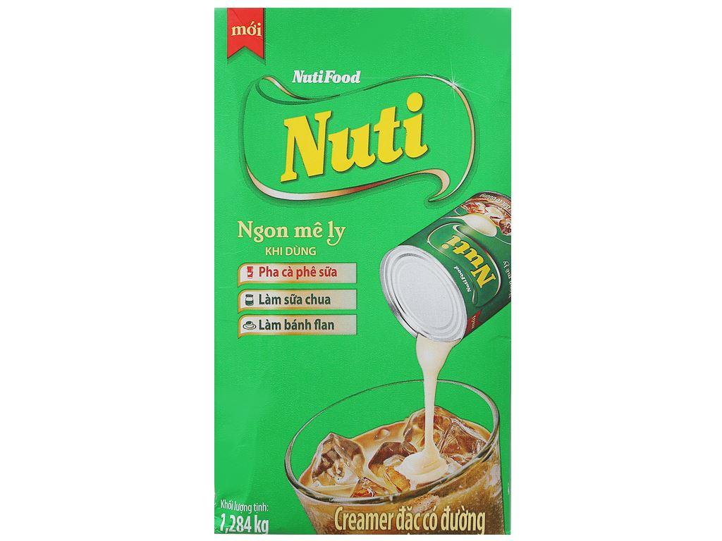 Kem đặc có đường Nuti xanh lá hộp 1,284kg 2