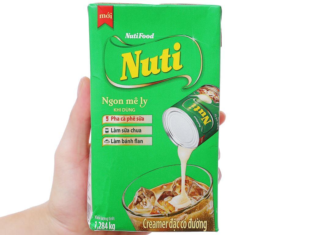 Kem đặc có đường Nuti xanh lá hộp 1,284kg 3
